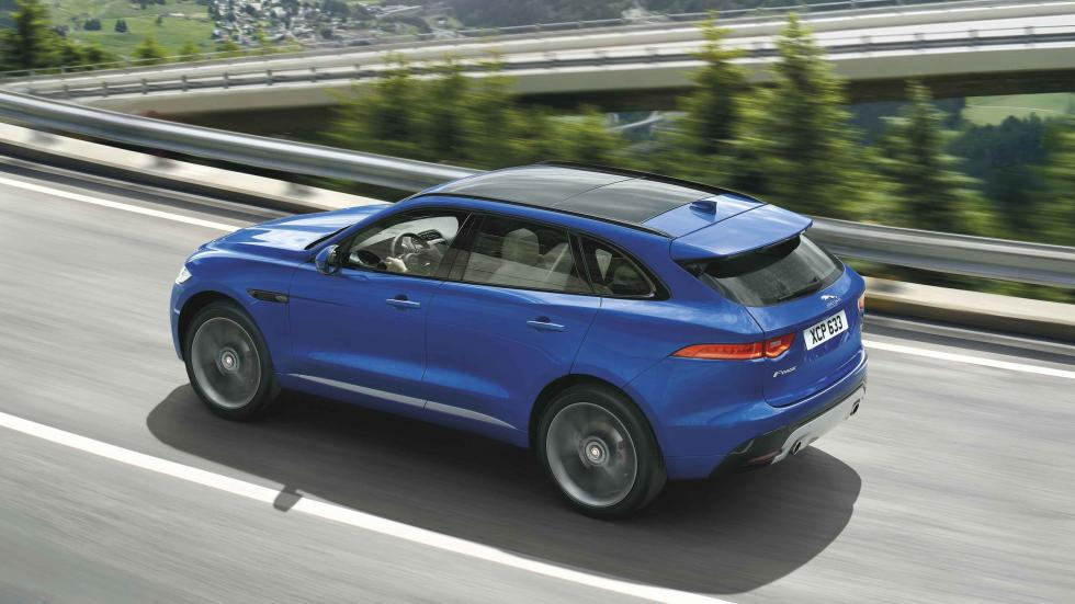 jaguar F-pace 2016 lateral