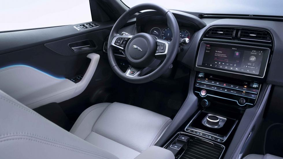 jaguar F-pace 2016 interior