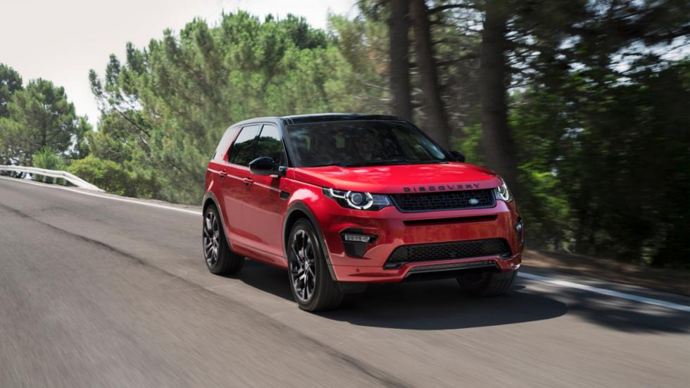Land Rover Discovery Sport Dynamic frontal lateral