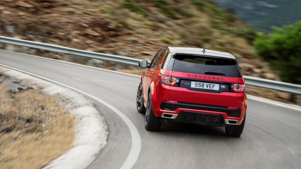 Land Rover Discovery Sport Dynamic trasera