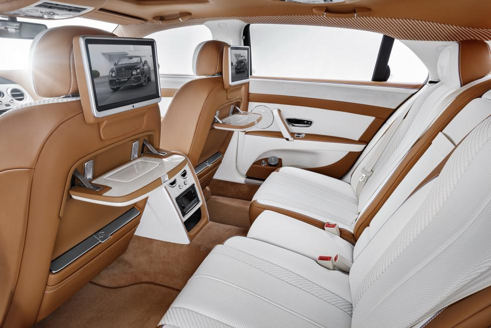 Bentley Flying Spur by Startech interior