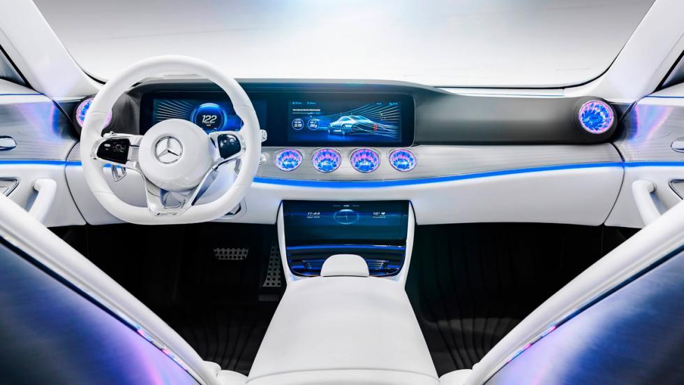 Mercedes Concept IAA interior