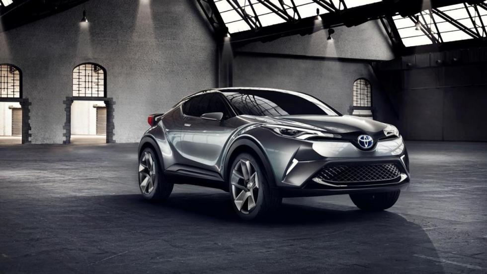 Toyota CH-R hybrid concept