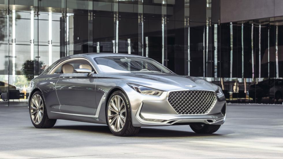 Hyundai Visión G Coupé concept