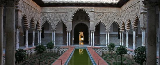 Reales Alcázares, Sevilla.