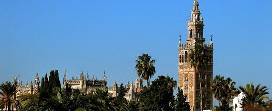La Giralda de Sevilla.