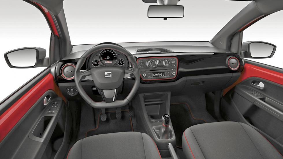 Seat Mii FR interior