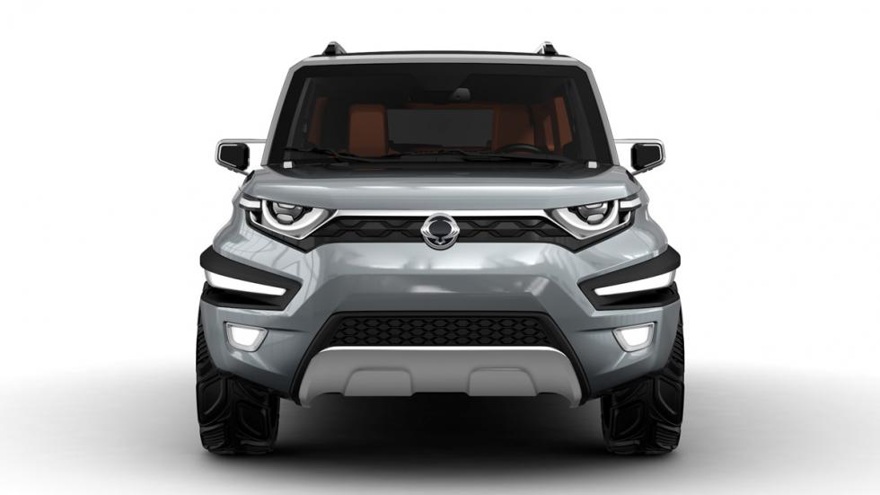 SsangYong XAV-Adventure frontal