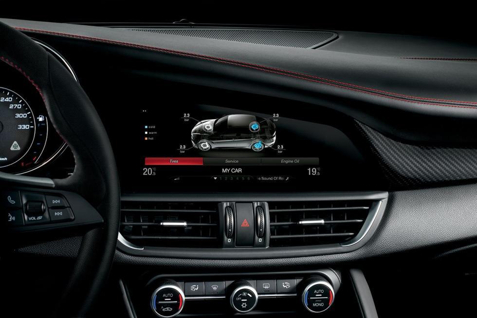 Alfa Romeo Giulia QV interior