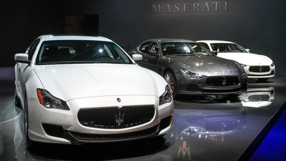 Maserati Quattroporte Salon Frankfurt 2015