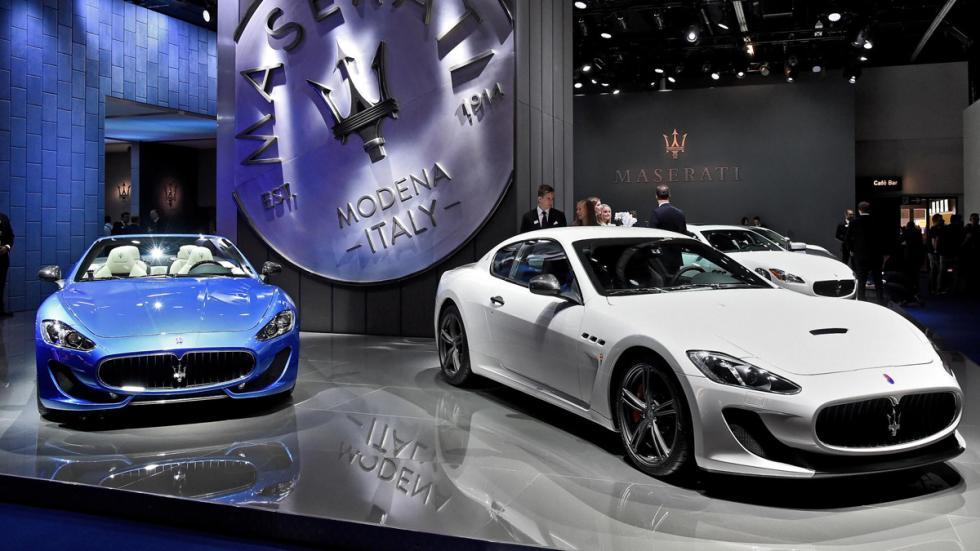Maserati Granturismo Salon Frankfurt 2015