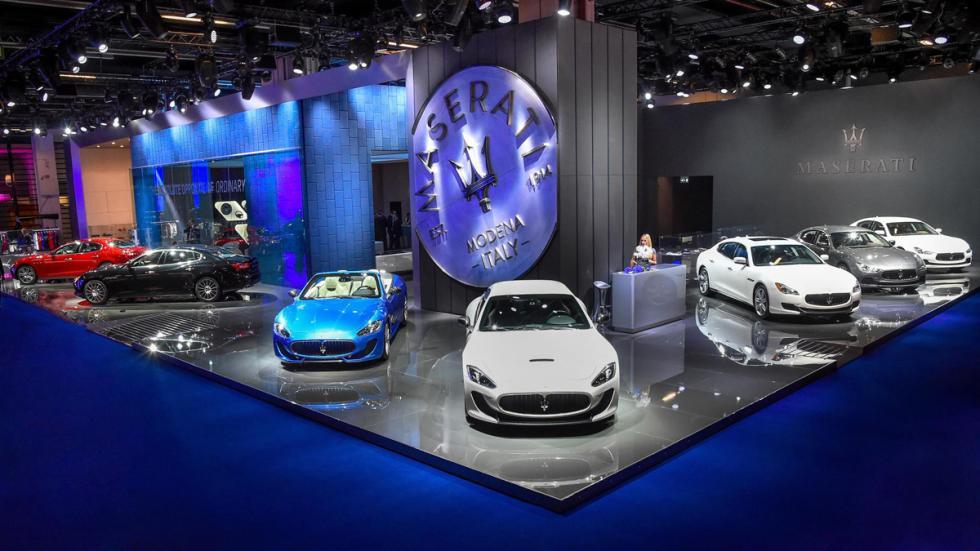 Maserati Salon Frankfurt 2015