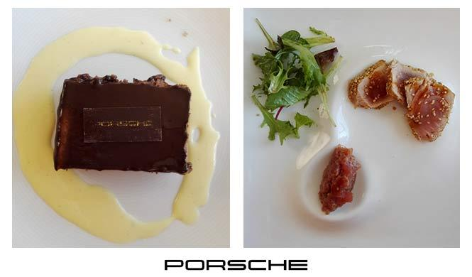 Porsche Experience Center menú estrella Michelin