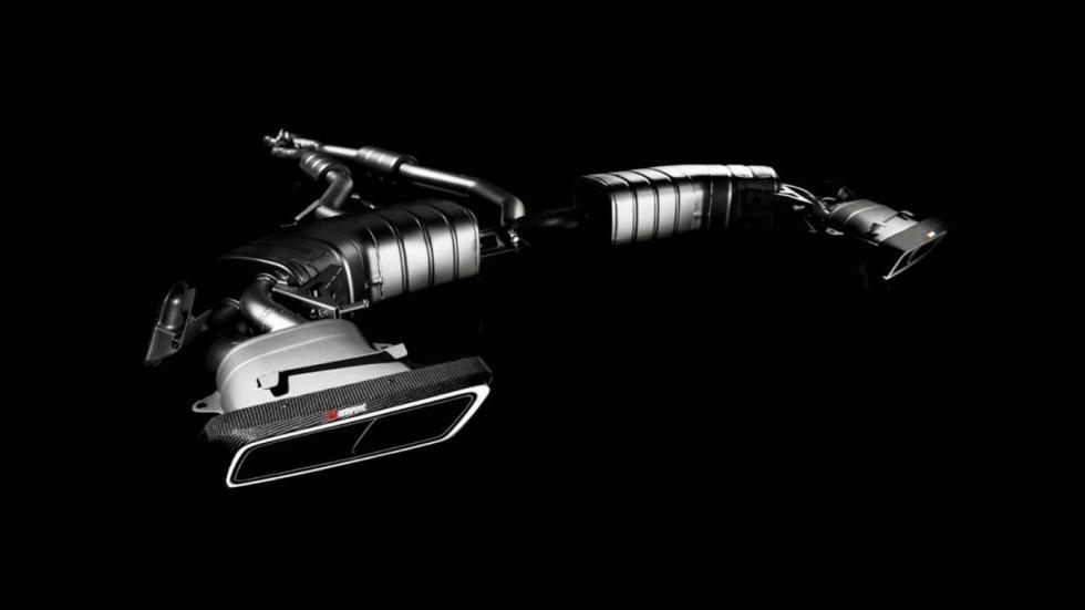 Mercedes-AMG S63 Coupé Akrapovic