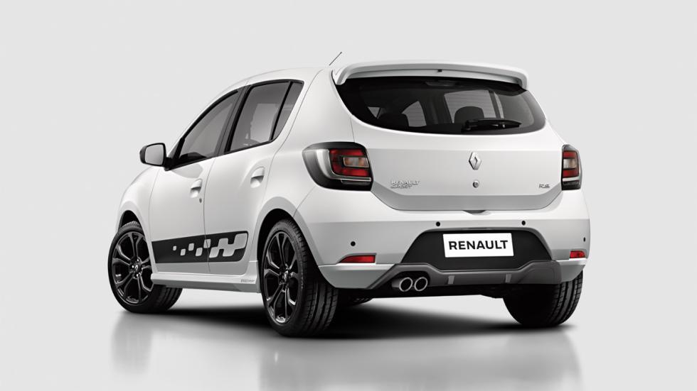 Renault Sandero R.S 2.0 trasera