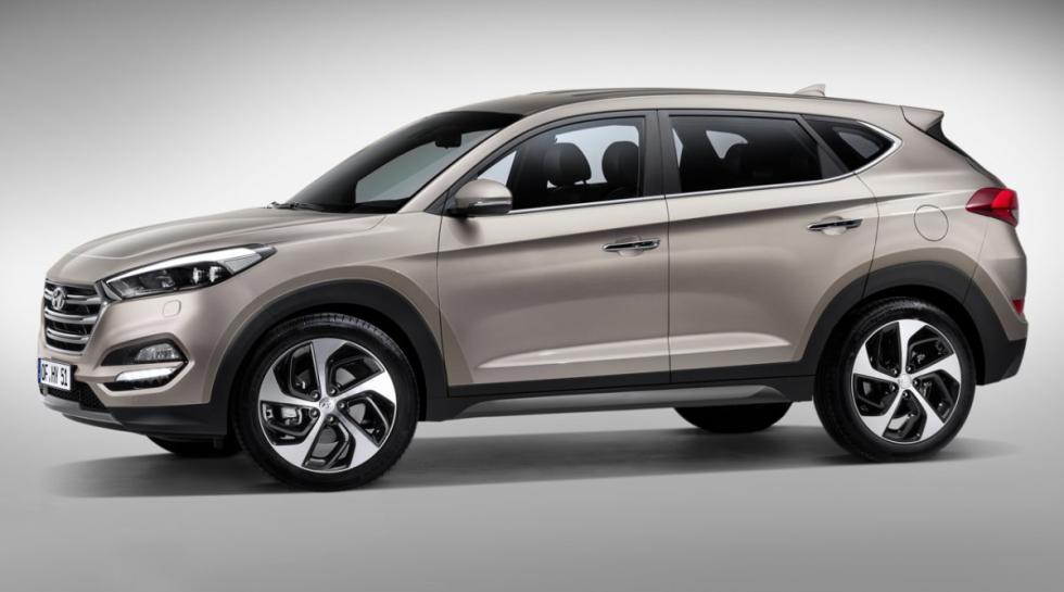 Hyundai Tucson lateral