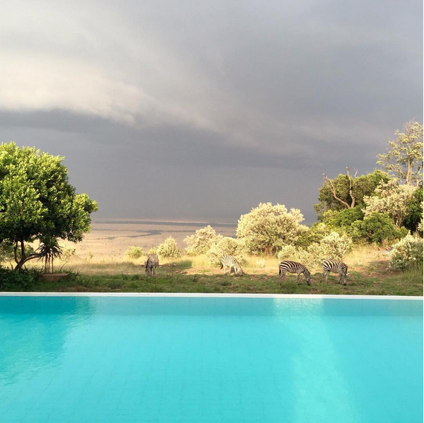 Angama Mara, en Kenia.