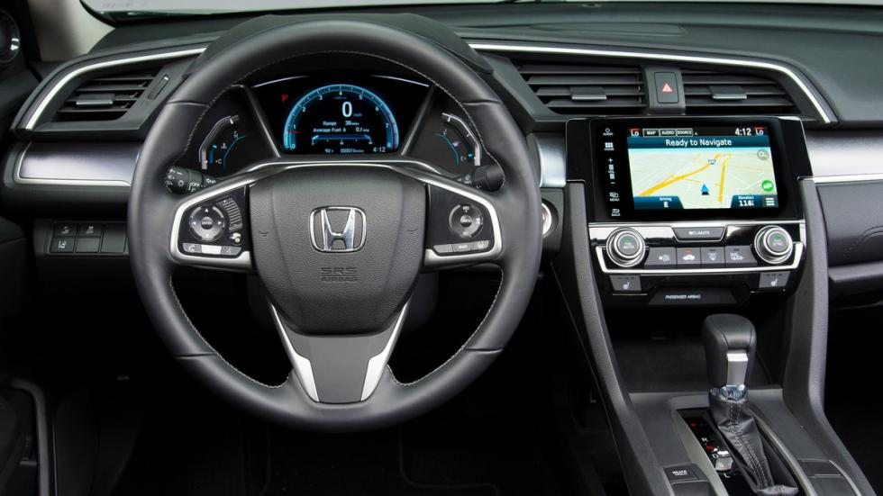 Honda Civic Sedan 2016 interior