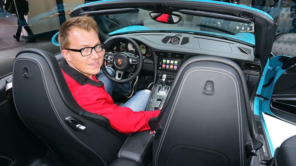Cockpits revolucionarios del IAA Porsche interior