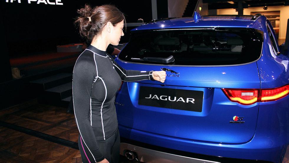 Cockpits revolucionarios del IAA Jaguar portón