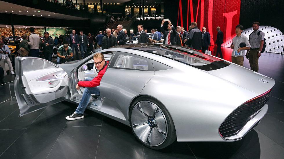 Cockpits revolucionarios del IAA Mercedes