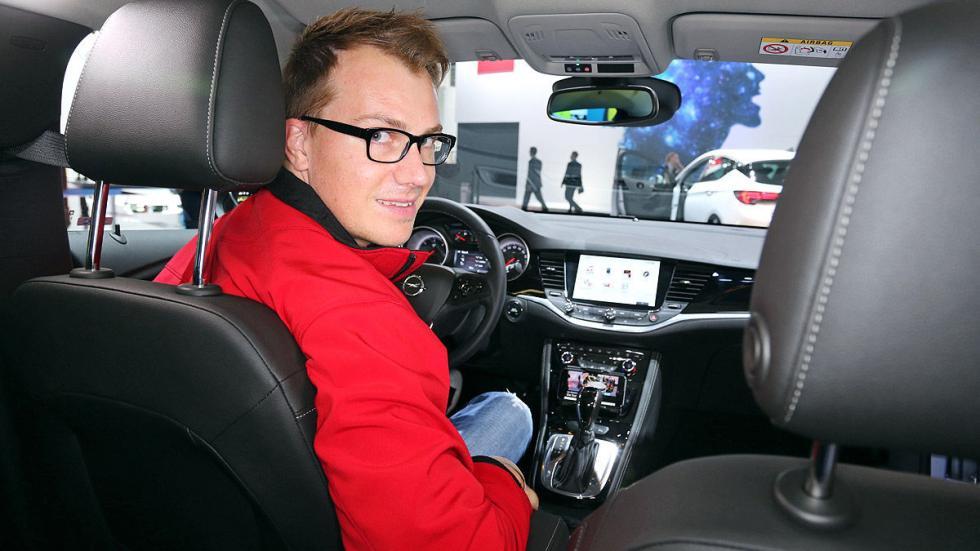 Cockpits revolucionarios del IAA Opel Astra