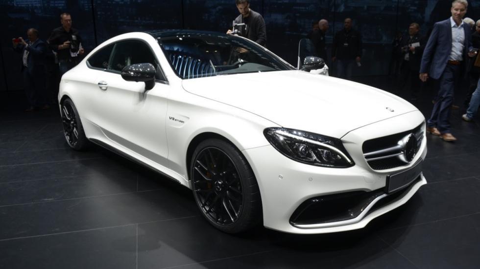 Mercedes-AMG C63 Coupé en Frankfurt