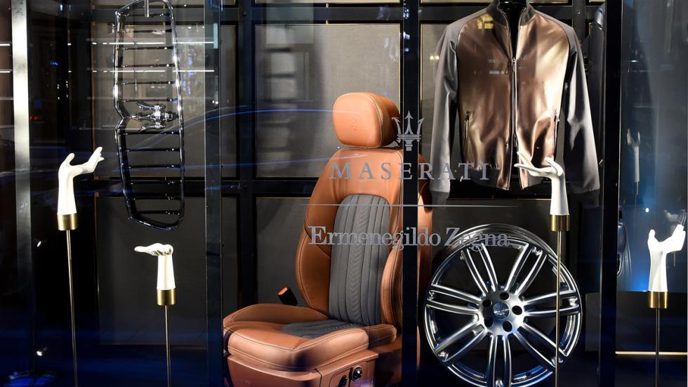 Muestra colección cápsula Zegna y Maserati