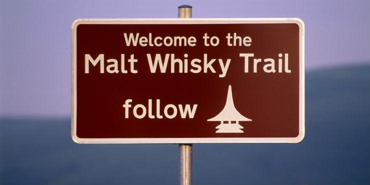 Ruta del Whisky, en Escocia