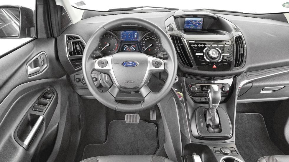 Comparativa SUV Kuga interior