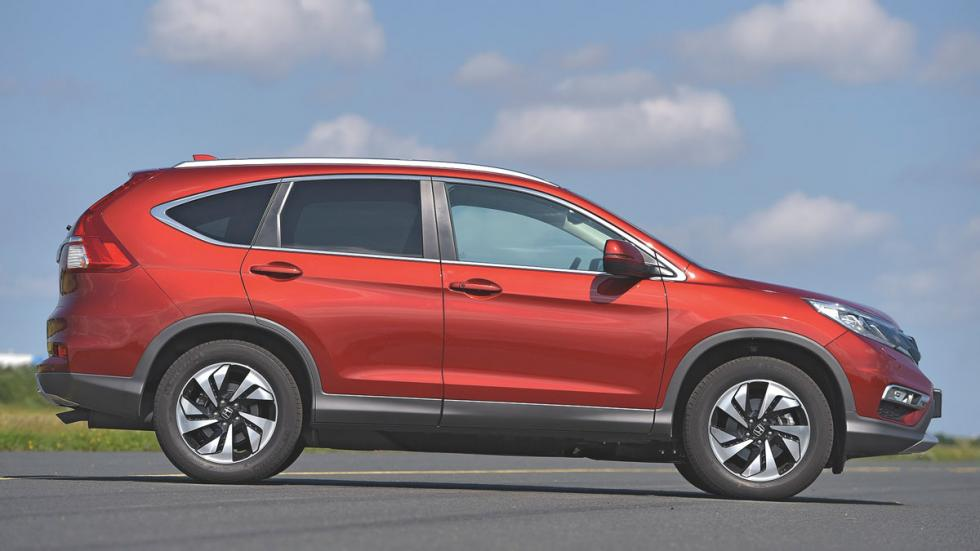 Comparativa SUV Honda CR-V lateral