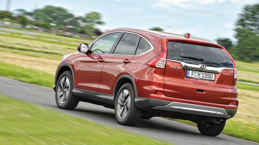 Comparativa SUV Honda CR-V trasera