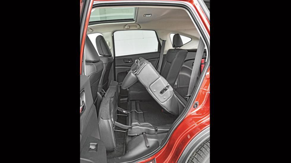 Comparativa SUV Honda CR-V plazas traseras