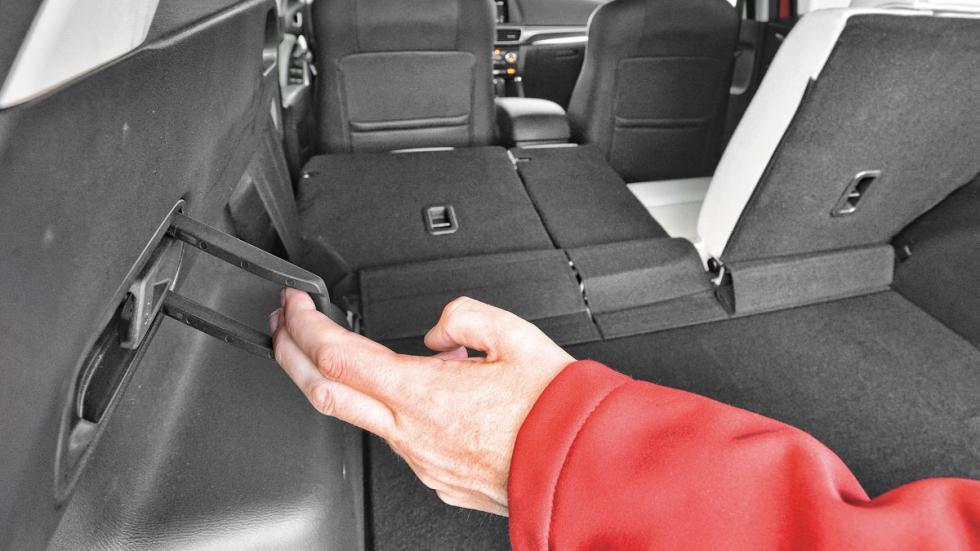 Comparativa SUV Mazda CX-5 maletero