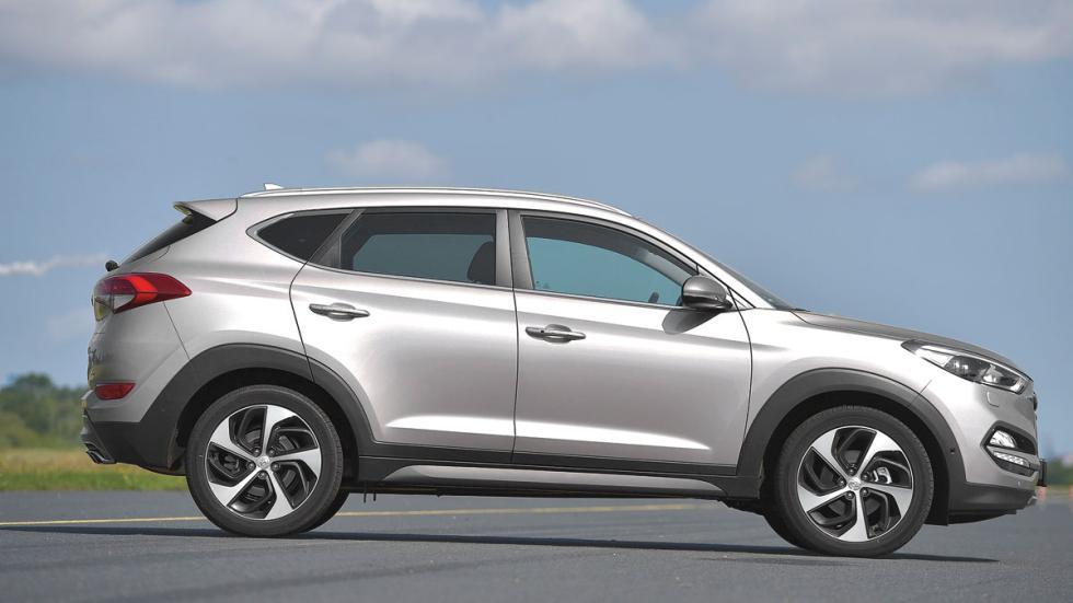 Comparativa SUV Hyundai Tucson lateral