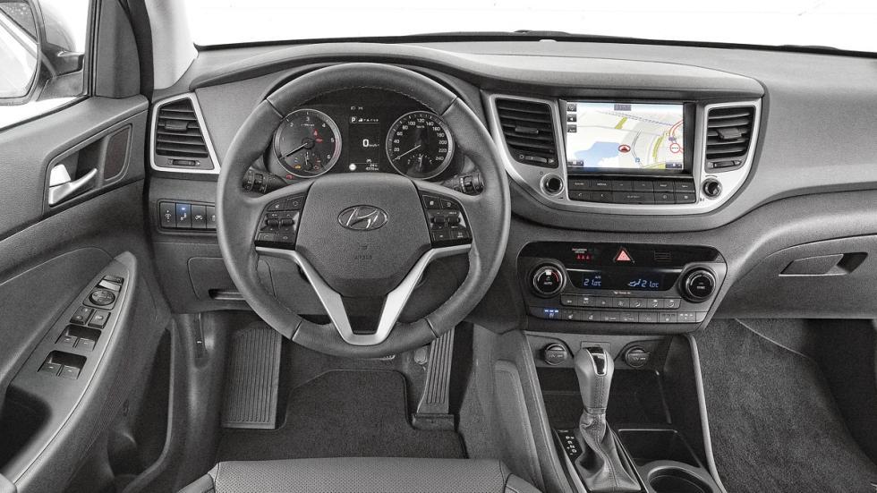 Comparativa SUV Hyundai Tucson interior