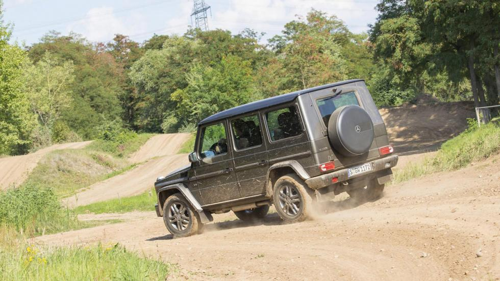 Mercedes Clase G 2016 offroad
