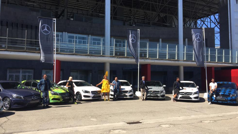 Mercedes de diseño MBFWM 2015 2