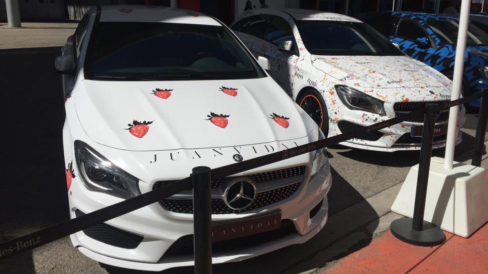 Mercedes de diseño MBFWM 2015 5