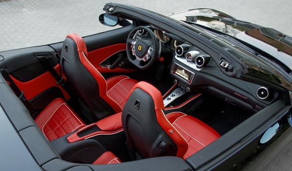 Ferrari California T Tailor Made negro interior