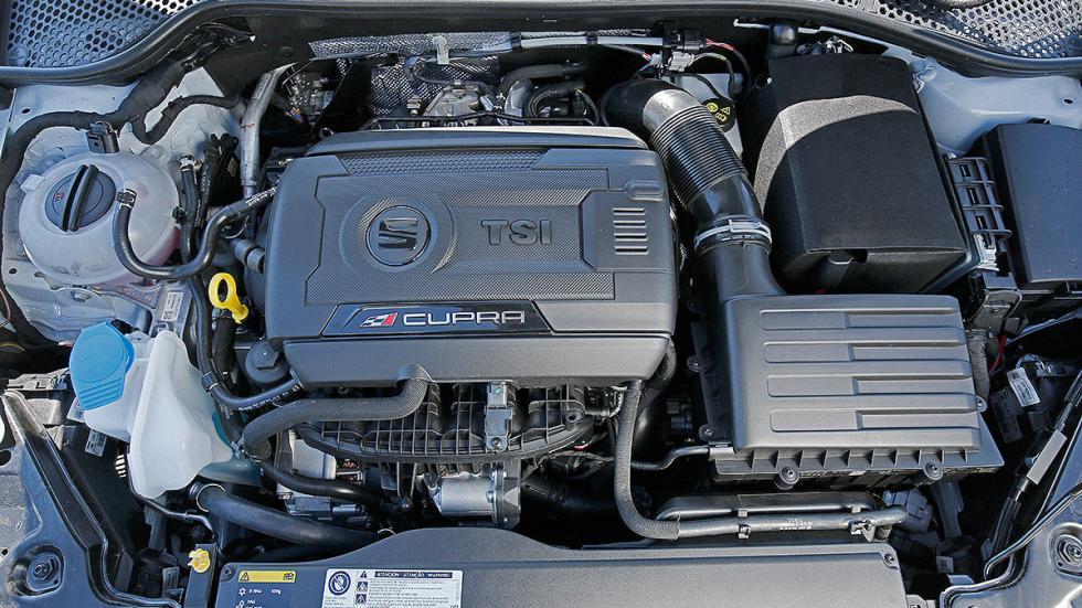 Leon ST Cupra 280 interior motor
