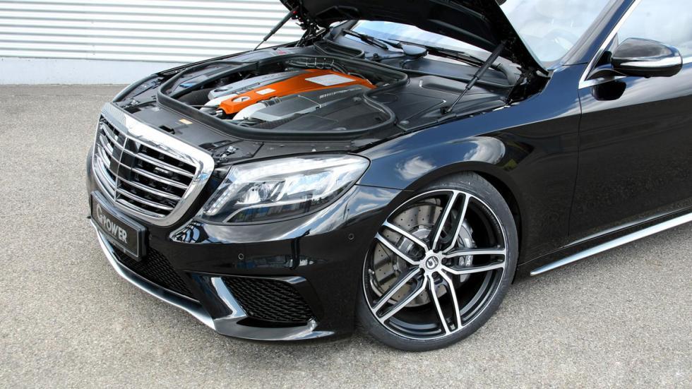 Mercedes S 63 AMG G-Power motor