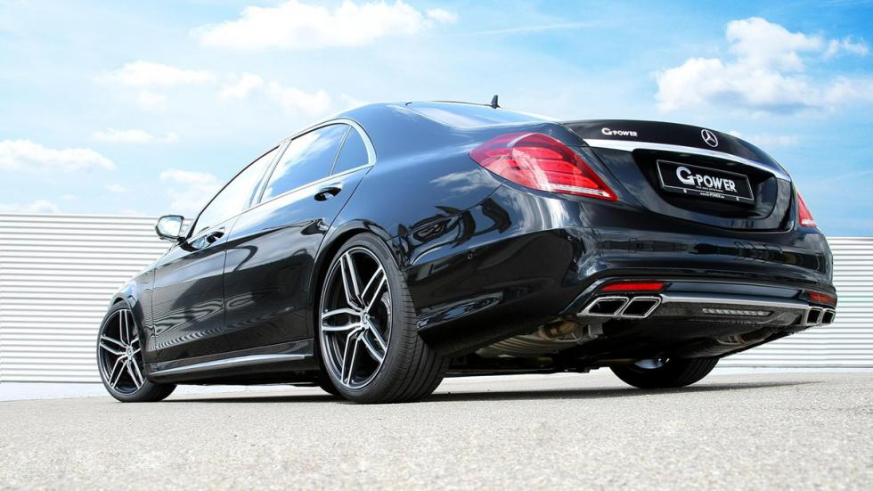 Mercedes S 63 AMG G-Power trasera