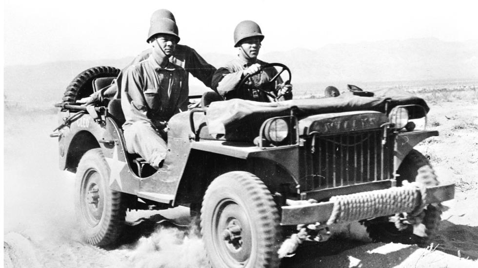 Jeep Willys delantera