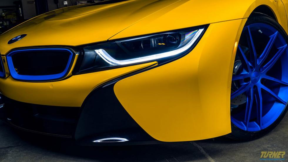 BMW I8 Turner Motorsport detalle
