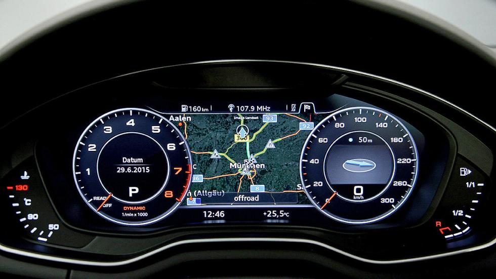 Nuevo Audi A4 instrumentación digital