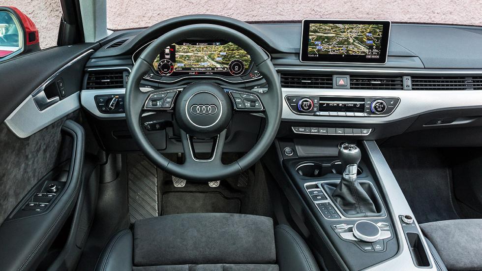 Nuevo Audi A4 instrumentación digital general