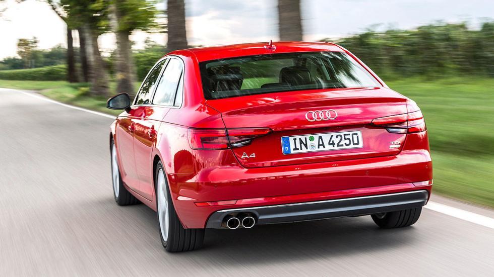 Nuevo Audi A4 barrido zaga
