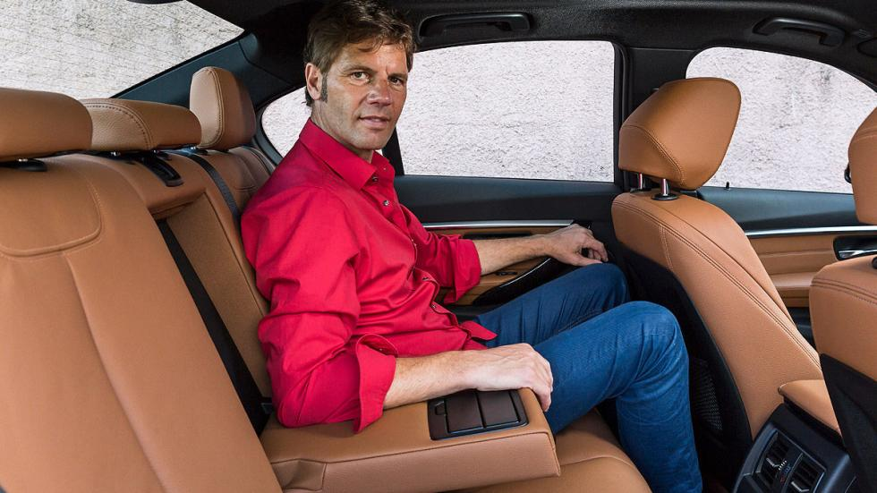 Nuevo BMW Serie 3 interior traseras