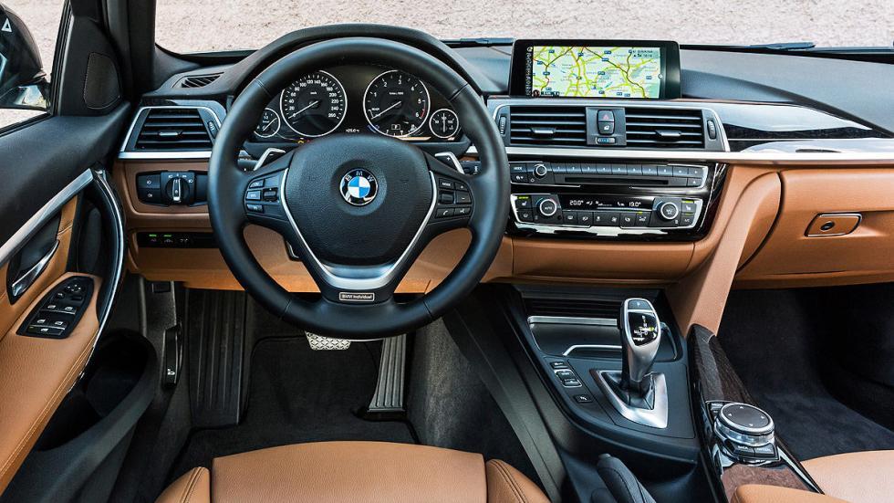 Nuevo BMW Serie 3 interior volante